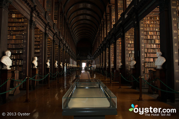 The Long Room is one of the most stunning features at the Trinity College.