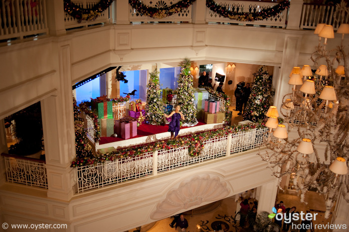 Celine Dion performing at Disney's Grand Floridian Resort & Spa