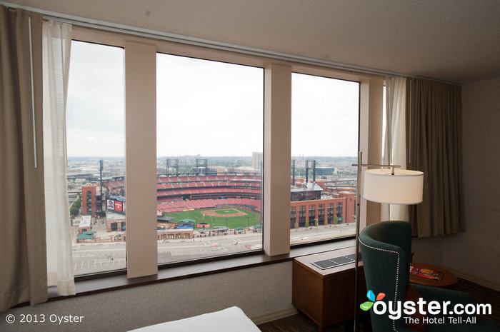 View from Guest Room at Hilton St. Louis at the Ballpark