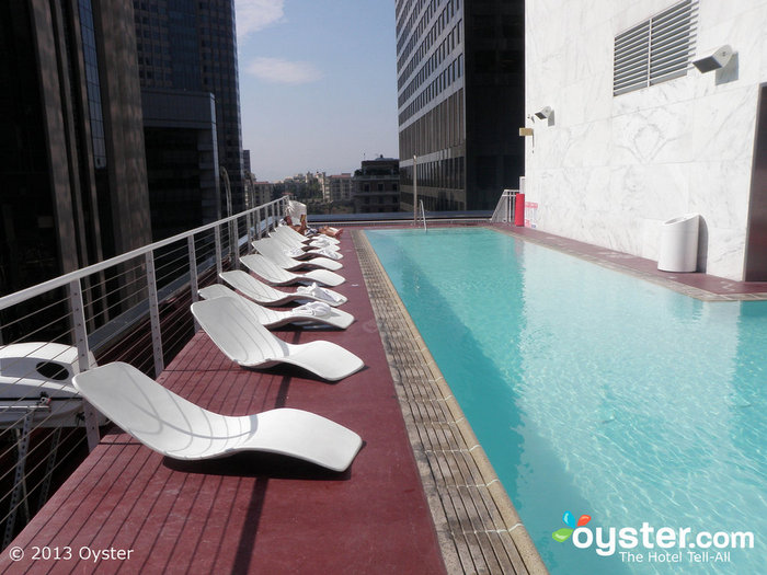 The Pool at The Standard Downtown LA