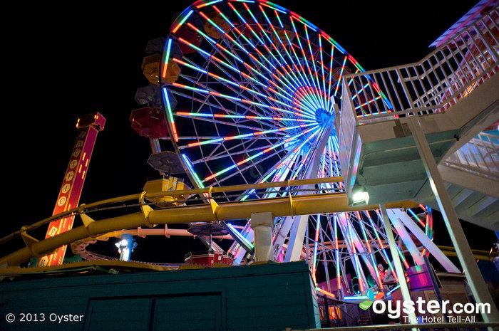 Ocean Front Walk and the Santa Monica Pier offer lots of quirk and good times.