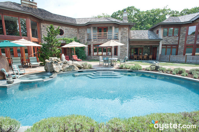 The Outdoor Pool at the East Hampton Art House Bed & Breakfast