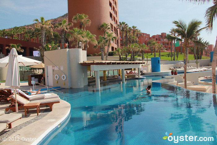 The Pool with Swim-Up Bar at The Westin Resort & Spa, Los Cabos