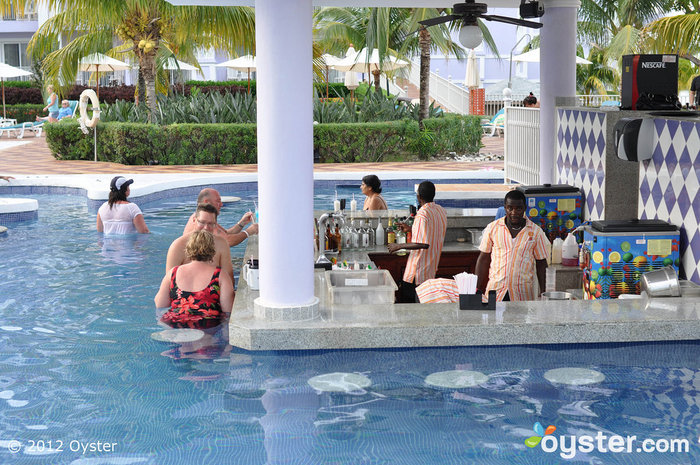 Rastafari Swim-Up Bar at the Riu Ocho Rios, All-Inclusive