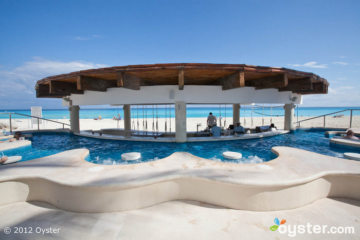Beachside Pool at the Omni Cancun Hotel & Villas