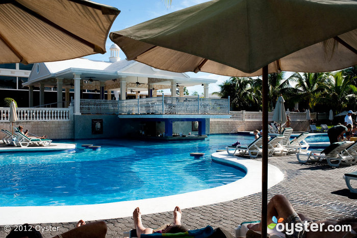 The Outdoor Pool at the ClubHotel Riu Negril