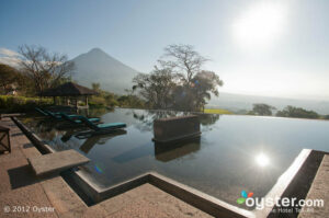 This luxury pick in Guatemala lies in the shadow of four volcanoes (two of them active -- for a truly hot honeymoon).