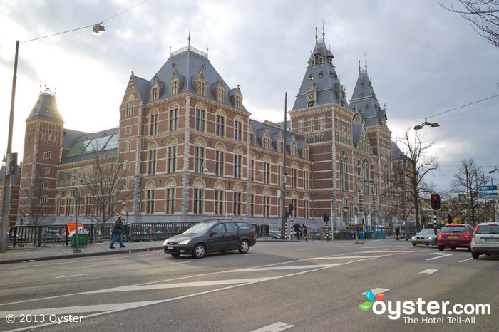 The Rijksmuseum is located in the Museum Quarter along with many significant others, such as the Van Gogh Museum.