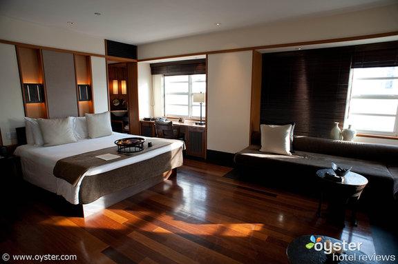 The Studio Suite, o tipo de quarto standard, no Setai em South Beach, Miami