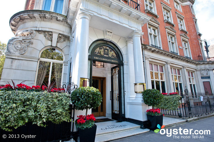 The Entrance to the Cadogan Hotel