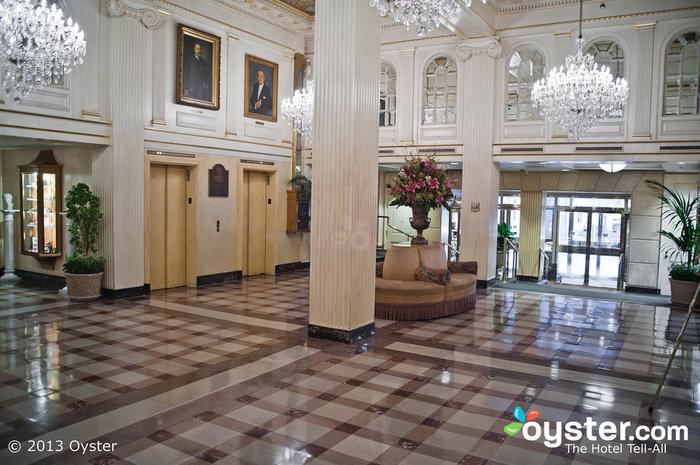 Lobby at Hotel Monteleone