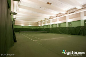 Tennis courts at the ONE UN New York