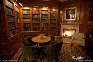Book Room at The Jefferson hotel in Washington, D.C.