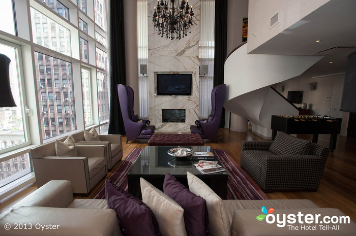 The Presidential Suite at the Gansevoort Park Ave