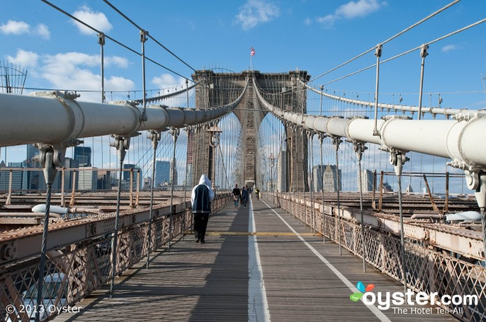 The Brooklyn Bridge turned 130 years old this month.
