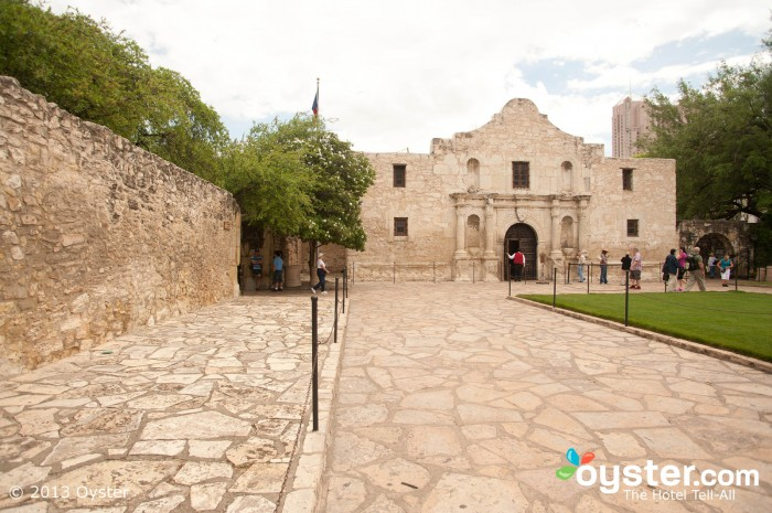 When you go to Texas, remember to visit the Alamo.