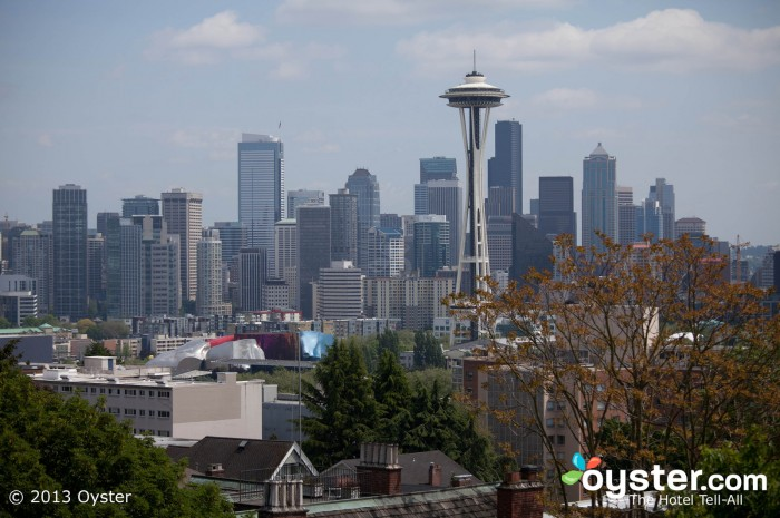 The Space Needle is the most iconic structure in the Pacific Northwest.