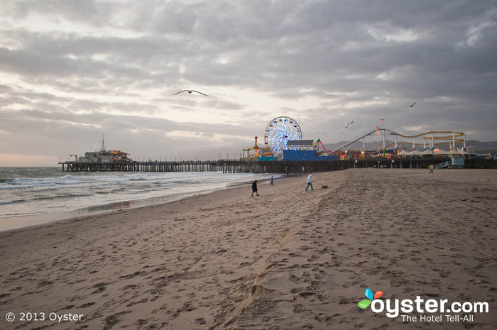 The Santa Monica Pier is great for families and leisure travelers.