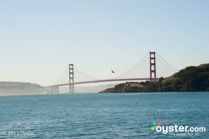 This San Francisco bridge is one of the most famous bridges in the world.