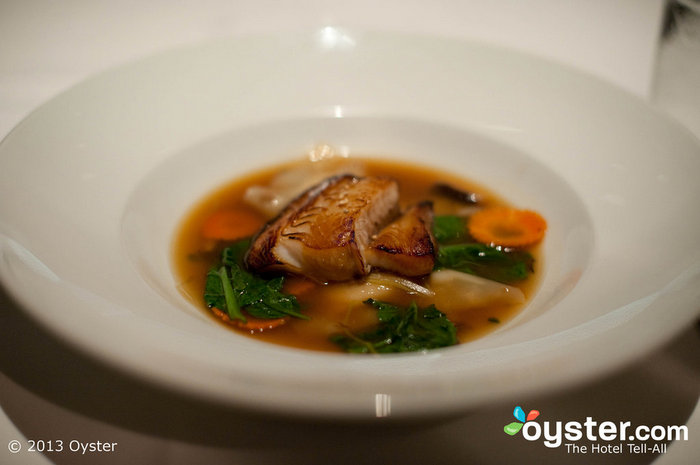 Ame sirve deliciosos platos con un toque asiático.