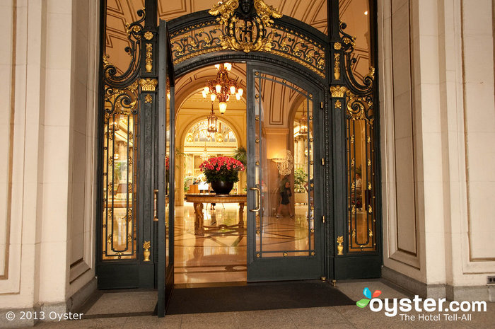 The Palace is the oldest hotel in San Francisco.
