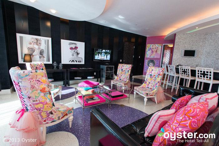 Die Barbie Suite im The Palms Casino