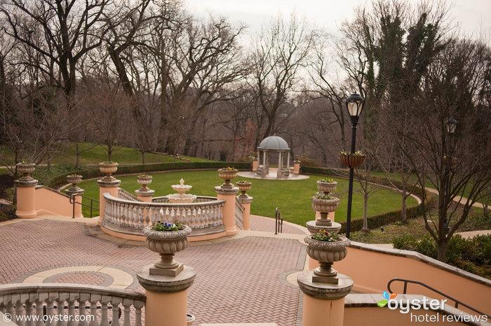 Garden en el Omni Shoreham Hotel en Washington, DC, donde la periodista del Washington Post Andrea Sachs siguió de cerca al reportero Will Begeny.