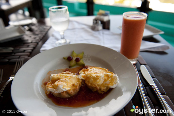 The free a la carte breakfast at Costa Rica's Gaia Hotel and Reserve is worth writing home about.