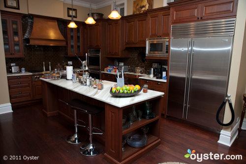 Die Villa d'Citta in Chicago verfügt über eine Gemeinschaftsküche, in der Sie rund um die Uhr kostenlose Snacks erhalten.