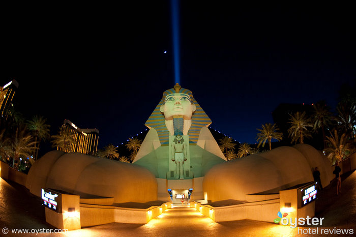 The Luxor Hotel & Casino, one of many Vegas hotels running promotions right now