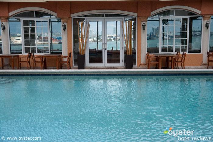 Pool at the Intercontinental Miami
