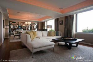 The Jumeirah Essex House Presidential Suite overlooks Central Park.