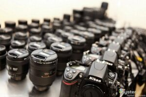 We love Nikon at Oyster, and our reporters use D700s as their primary cameras.