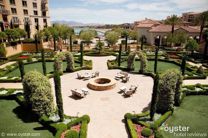The grounds at the Ritz-Carlton Lake Las Vegas, set to close on May 2