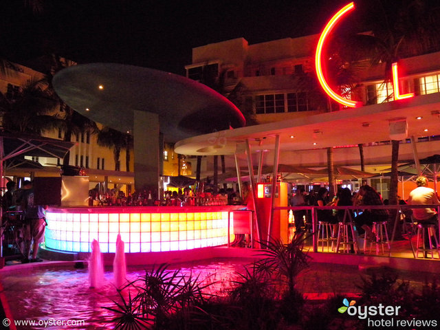 One of the pool bars at the Clevelander Hotel, where we expect to find the Jersey Shore cast next season.