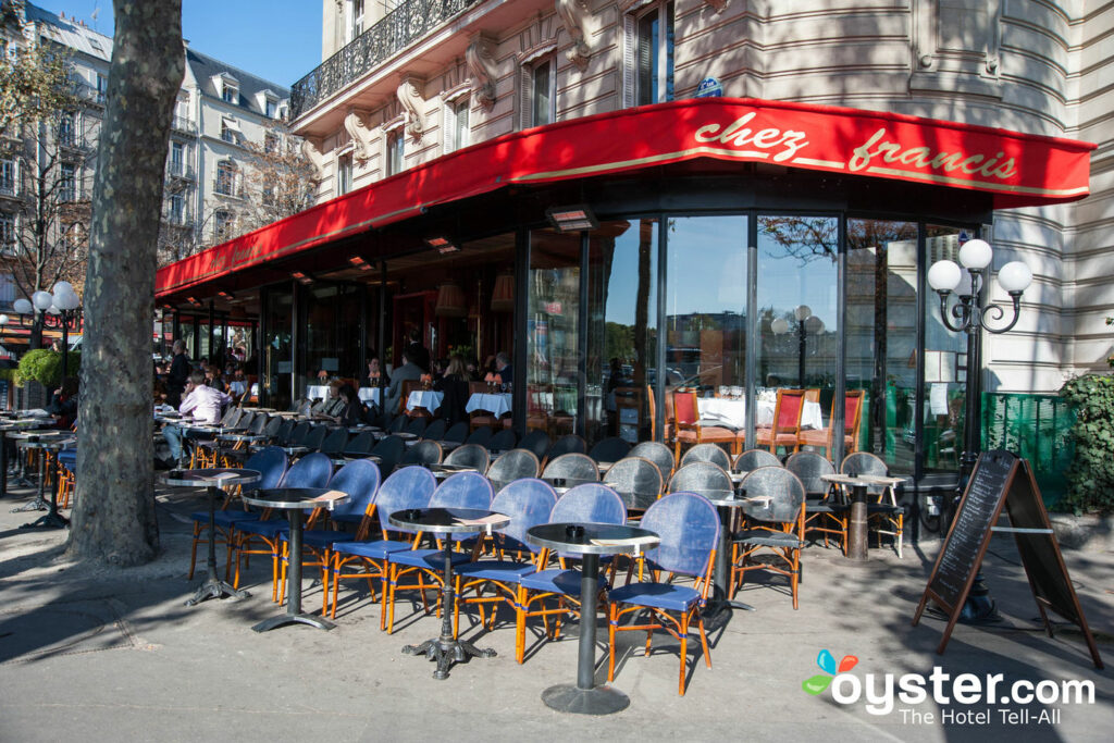 Café im 8. Arrondissement, Paris