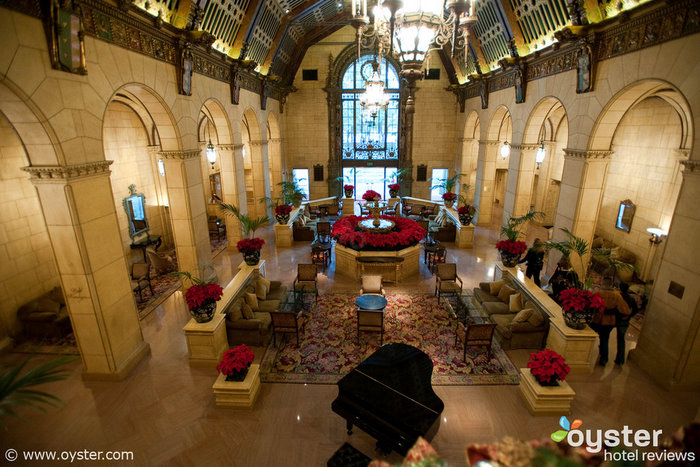 The Millennium Biltmore has been a set for several Oscar-winning movies, and even hosted the award ceremony in the 1930s and '40s