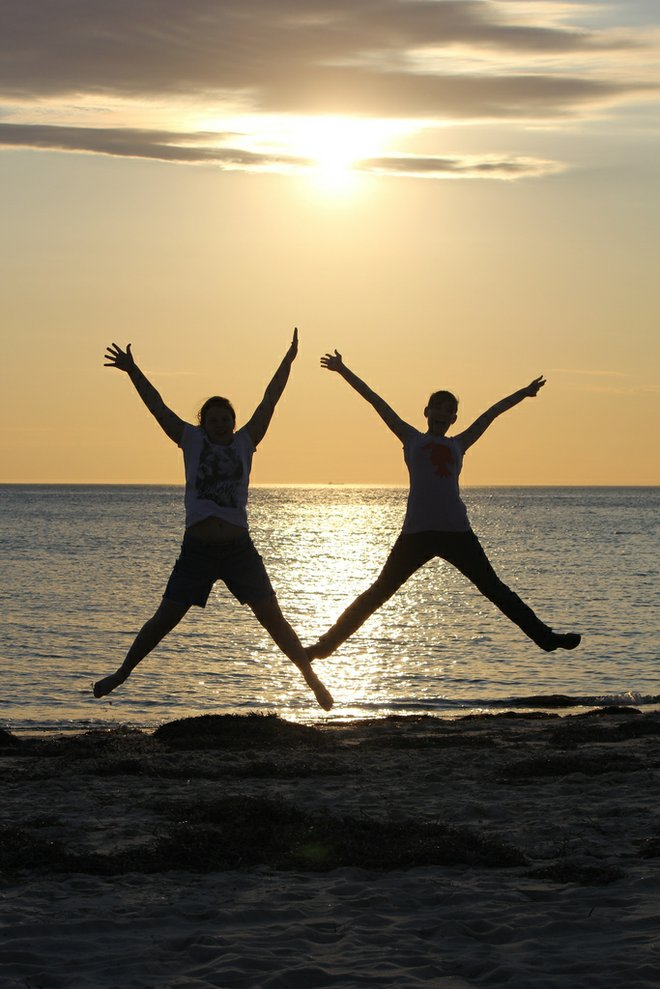 Jumping Jacks are perfectly portable exercise. Photo Credit: Flickr/Alex Barton