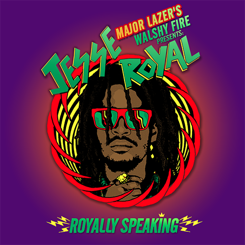 "Jesse Royal's ""Royally Speaking"" album cover (Photo credit: Twitter/JesseRoyal1)"