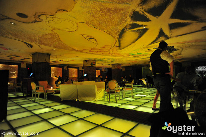 Philippe Starck's surreal design, which the Hudson Hotel Bar showcases, makes you feel like you've gone down the rabbit hole.