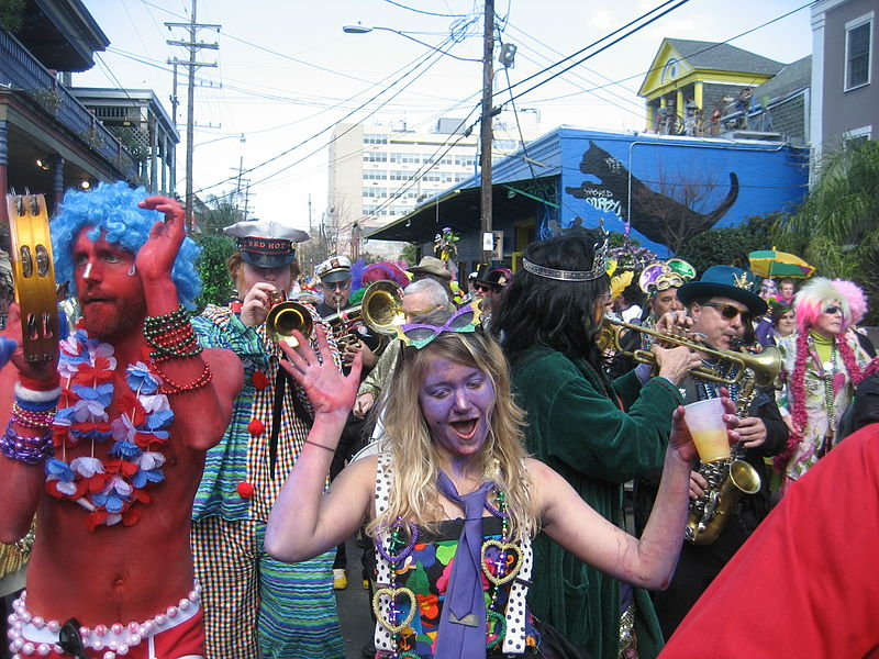Mardis Gras; photo by Infrogmation