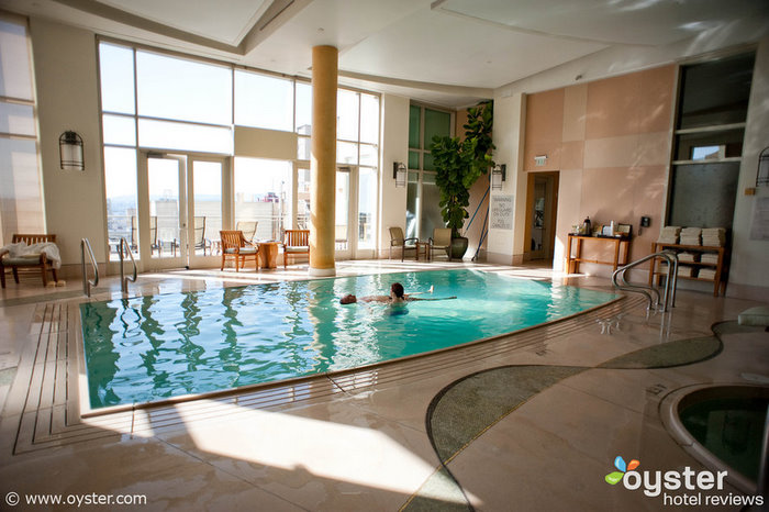 The Huntington Hotel in Nob Hill is home to one of San Francisco's top spas.