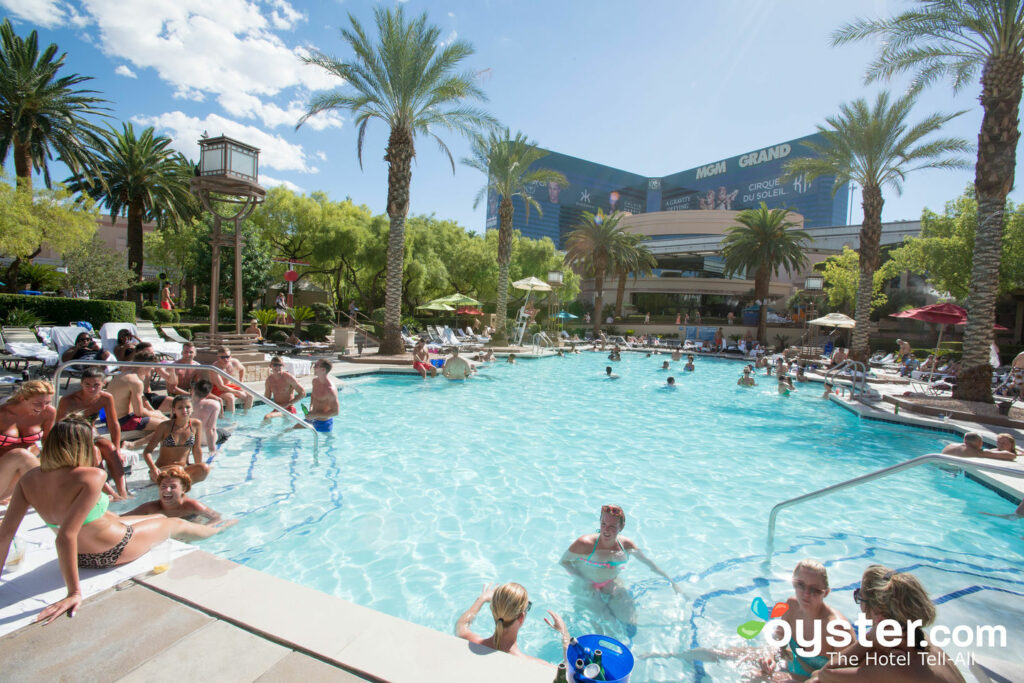 The Academy Pool at MGM Grand Hotel & Casino/Oyster