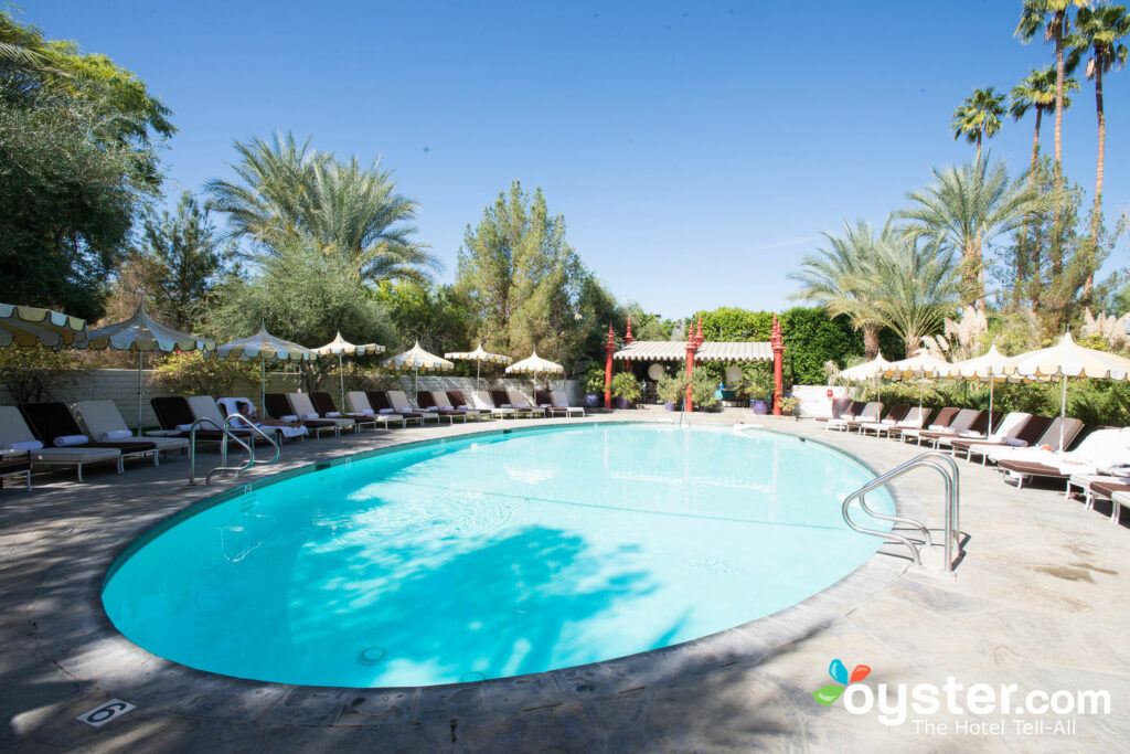 The Adult Pool en The Parker Palm Springs