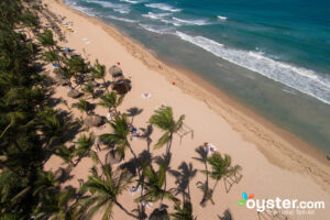 Aerial View of Excellence Punta Cana/Oyster