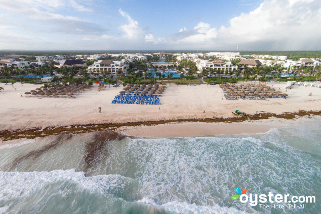 Aerial Photography at Hard Rock Punta Cana