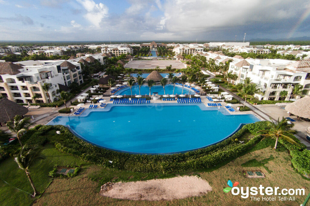 Aerial View at Hard Rock Hotel & Casino Punta Cana/Oyster