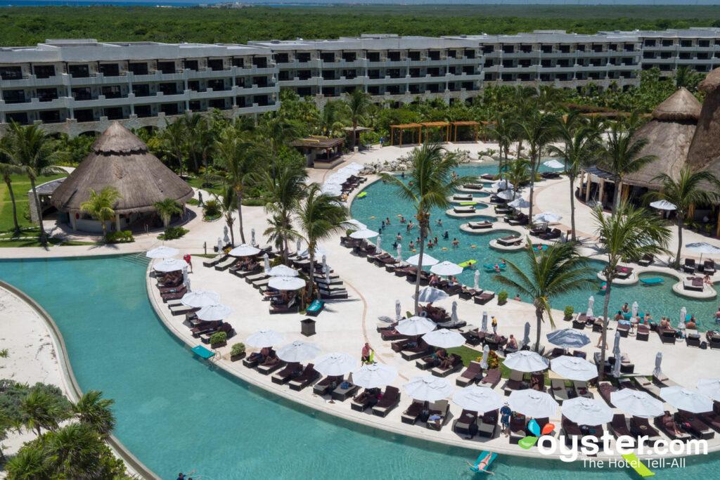Pools at Secrets Maroma Beach Riviera Cancun