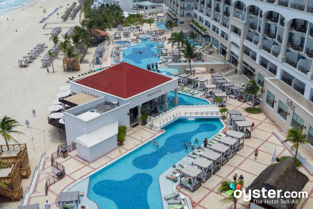 Pool at Hyatt Zilara Cancun