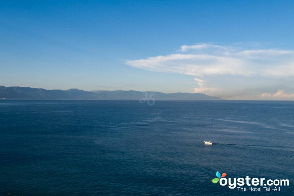 Aerial View in front of Hilton Puerto Vallarta Resort/Oyster